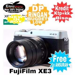 Fujifilm XE3 Body+Kit XF23mm Resmi Cash/kredit Dp2jt ditoko Call/Wa;081905288895