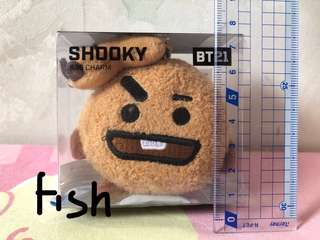 BT21 Shooky Bag Charm (全新)