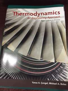 Thermodynamics An Engineering Approach (Eighth Edition in SI units)
