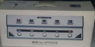 Apogee Gio USB Guitar Interface & Controller