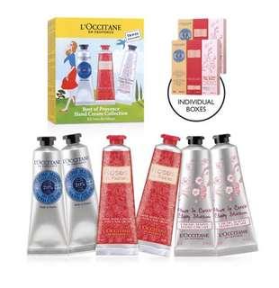 L'Occitane BEST OF PROVENCE hand cream set 30ml*6