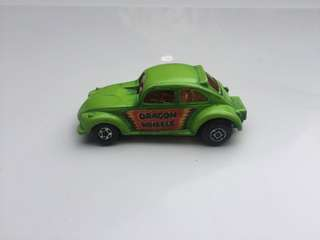 Matchbox Lesney Superfast No 43 Dragon Wheels Volkswagen VW Made In England 1972