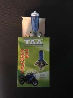 H4 headlight bulb for motorbike