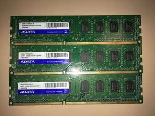 RAM adata ddr3 2GB
