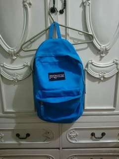 Authentic Jansport Light Blue Backpack