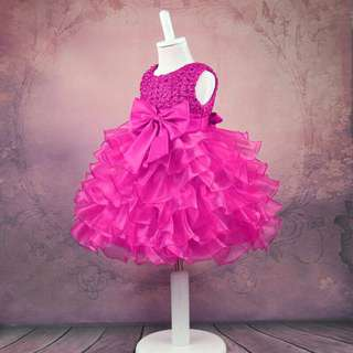 Free Shipping Promotion-15-25 Days Shipping Time for Toddler Girl Princess Party Dress