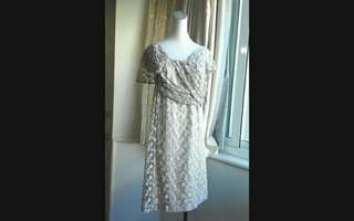 🚚 Le Polka(銀穗)超美 古董蕾絲洋裝