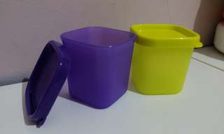 Snack store Tupperware set (isi2)