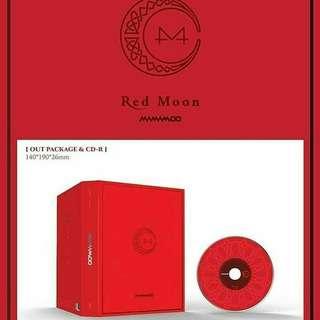 MAMAMOO - RED MOON batch order