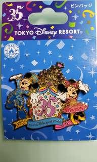 東京迪士尼 35 週年Pin