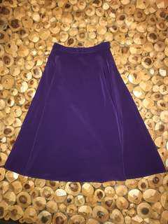 American Apparel below-the-knee skirt