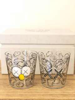 KAWS Seeing/Watching 玻璃杯套裝 2sets齊款收藏
