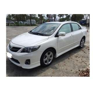 2012年 Toyota ALTIS Z版 白✅0頭款 ✅免保人✅低利率✅低月付 FB搜尋:阿源 嚴選二手車/中古車買賣