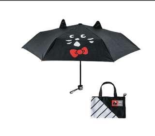 Ne-net 貓x Hello Kitty Umbrella 縮骨遮 連遮袋
