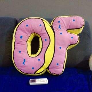 Odd Future Donut Pillow cushion