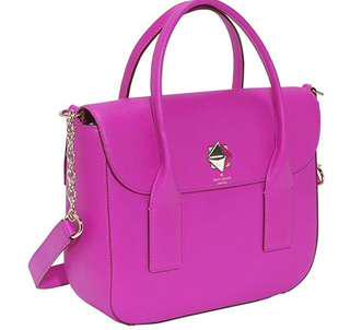 Kate Spade New York Bond Street Florence Flap Satchel in stunning pink