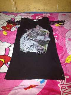 Fox Printed Dress