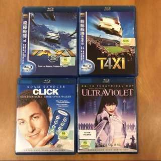 🚚 Blu Ray DVDs