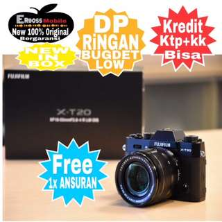 Fujifilm XT 20 Body+Instax SP 2 Resmi Cash/kredit Dp1jt ditoko Call/Wa;081905288895