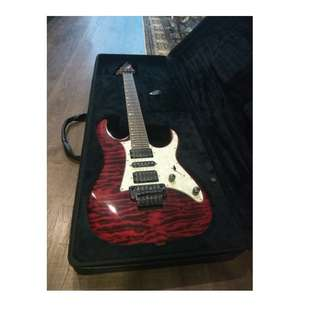 Ibanez electric guitar RG950QM Premium! (Red Desert) FULL SET with Marshall MG30CFX amplifier!!!
