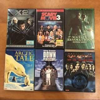 🚚 Assorted DVDs