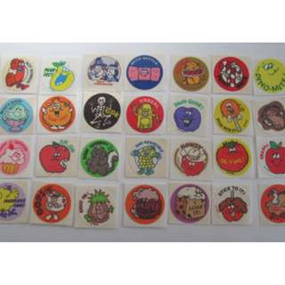 🚚 Scartch & Sniff Stinky Stickers, limited edition!!(Pre-order)