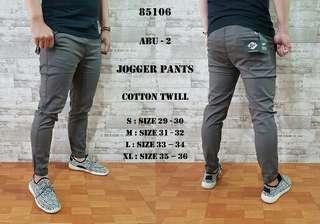 Celana Panjang - Jogger Panjang Abu