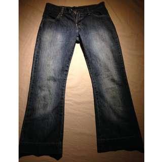 "LEVI'S 600 Straight Leg Jeans ~ Size 27   Inseam: 25.5"" Rise: 9.5"""