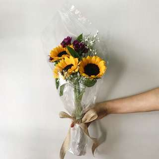 Triple Sunflower Bouquet