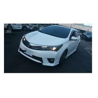 2014年 Toyota ALTIS Z版 白✅0頭款 ✅免保人✅低利率✅低月付 FB搜尋:阿源 嚴選二手車/中古車買賣