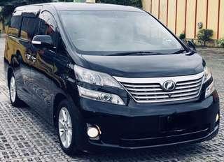 Toyota Vellfire 3.5 Sambungbayar