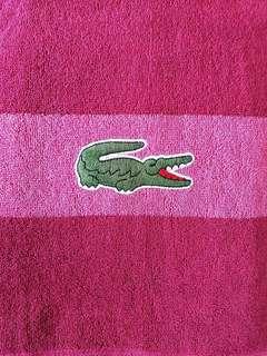 Original Lacoste Beach Towel