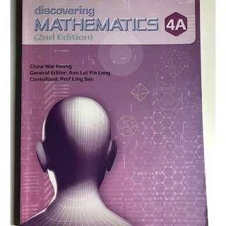 Discovering Mathematics 4A & 4B
