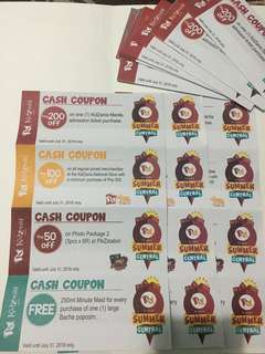 KIDZANIA CASH COUPONS!
