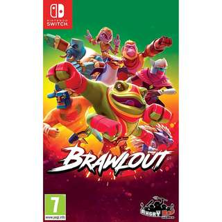 [NEW NOT USED] SWITCH Brawlout Nintendo Merge Fighting Games