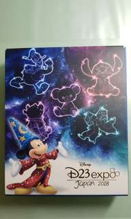 Japan D23 expo 2018 Boxed Pin Set