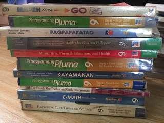 Grade 9 textbooks