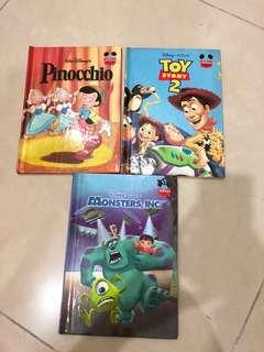 Disney edition story books