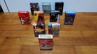 Marlboro Cigarette Box Collection