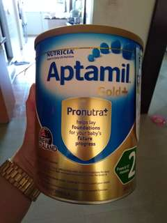 Aptamil gold+ stage 2 milk