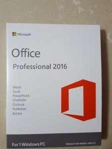 Microsoft Office 2016 Pro OEM