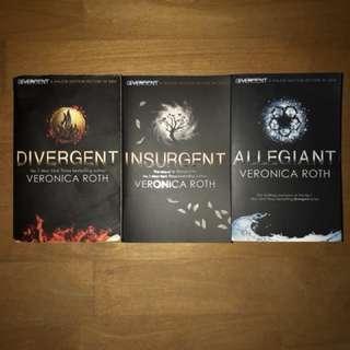 3/4 divergent book series