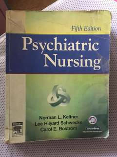 Nursing Psych book!