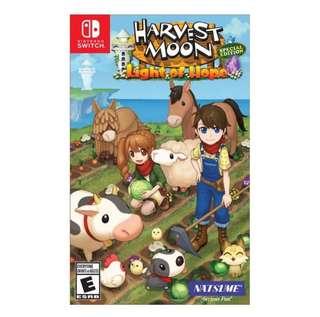 BNIB Nintendo Switch Harvest Moon