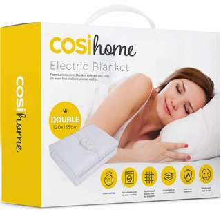 (E76) CosiHome Electric Blanket (Double 120 x 135cm)