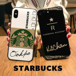 (Soft) Inspired Starbucks with YOUR OWN DIY SIGNATURE Phone Case