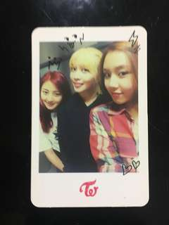 Twice the story begins photocard