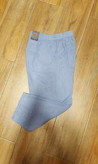 Mark & Spence Linen Rich Cropped Wide Leg Trousers #UNDER90