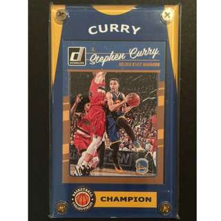 Stephen Curry Card - NBA Final Champion