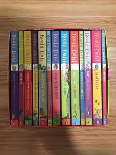 Roald Dahl Story Books Collection